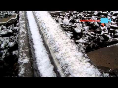 Tramvaje jsou kvůli ledu v Praze mimo provoz