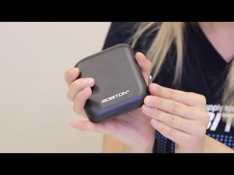 Видео Универсальный внешний аккумулятор ROBITON POWER BANK Li14-K черный