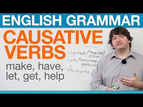 (videó) Angol nyelvtanfolyam online: műveltető szerkezet egyszerűen