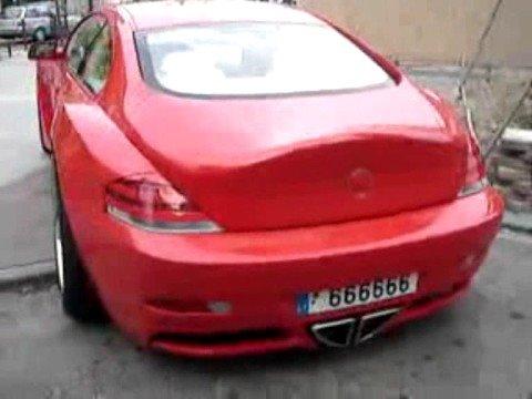 BMW 6  extreme tuning - Dieser 6er BMW fährt nicht auf einer 20' oder 22' Bereifung sondern auf  gigantischen 26'! Aber auch sonst ist er ein ganz...