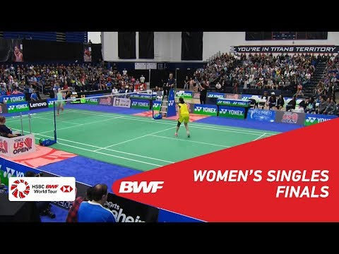 WS  Beiwen ZHANG USA 1 vs LI Xuerui CHN  BWF 2018