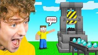 I INVENTED A DIAMOND MAKER In Minecraft!
