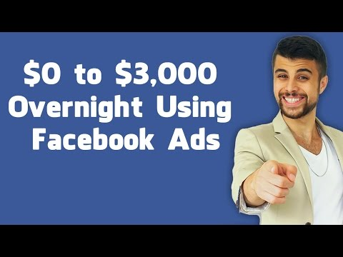 How To Scale Facebook Ads - $0 to $3,000 a Day Overnight