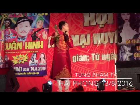 Hồ Văn Cường hát tại Hải Phòng, 13/8/2016