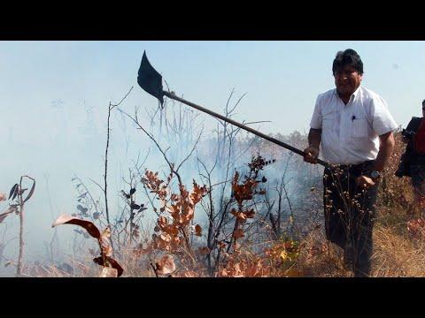 Bolivien: Präsident Morales fordert mehr Klimaschutz u ...