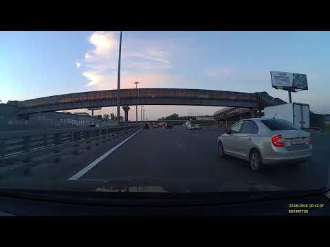 Авария на Ярославском шоссе в Москве