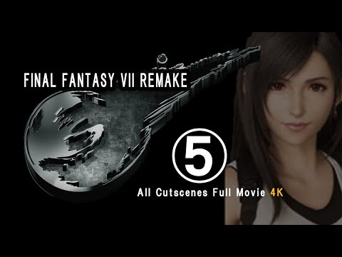 Final Fantasy 7 Remake  All Cutscenes Full Movie 4K Part 5