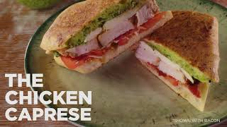 Try Our New Pressed Sandwiches