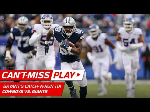 Video: Dez Bryant Shakes Off Janoris Jenkins for a Huge Catch-'n-Run TD! | Can't-Miss Play | NFL Wk 14