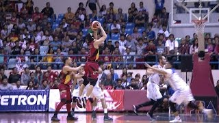 The Crunchman nails the booming triple versus TNT! | PBA Philippine Cup 2016 - 2017