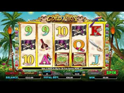 Gold ahoy™ free slots machine by NextGen Gaming preview at Slotozilla.com