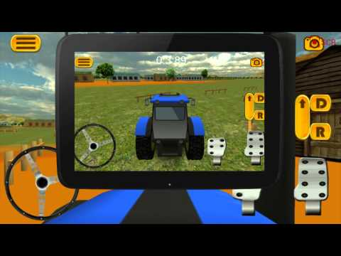 Video of Tractor parking 3D Farm Driver