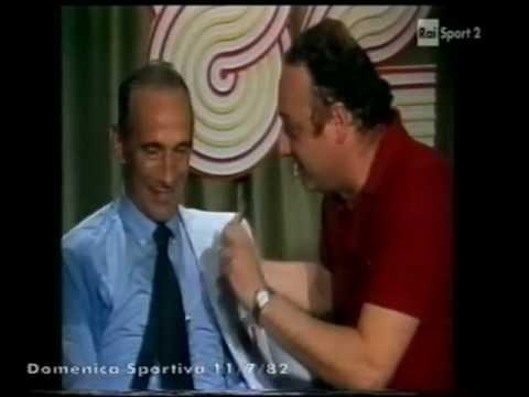 beppe viola intervista enzo bearzot, dopo italia-germania o. 3-1, 1982!