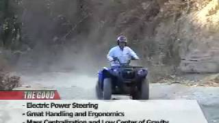 10. ATV Television Test - 2007 Yamaha Grizzly 700