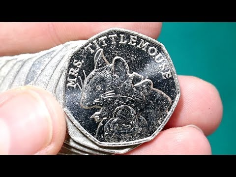 There's a Mouse Loose!!! £250 50p Commemorative Coin Hunt Bag #48 [Book 2]