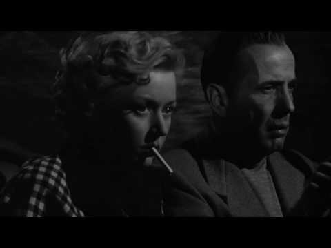 In A Lonely Place (1950) - Car Scene (2/3)