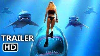 DEEP BLUE SEA 2 Official Trailer (2018) Shark Movie HD