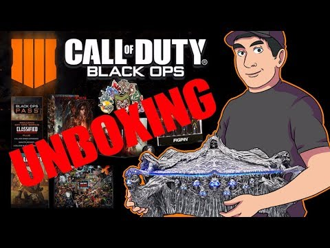 Call of Duty Black Ops 4 Mistery Box Edition | Unboxing |
