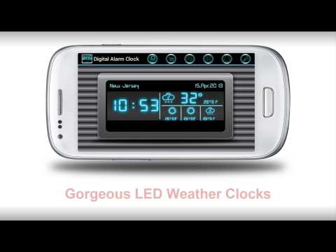 Video of Digital Alarm Clock
