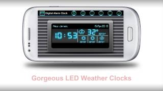 Digital Alarm Clock YouTube video