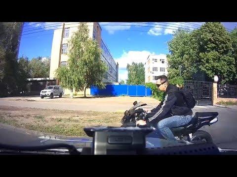 Задержание мотоциклиста в Тольятти