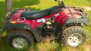 10. 2004 300 ARTIC CAT 4X4 ATV FOUR WHEELER FOR SALE  $1000