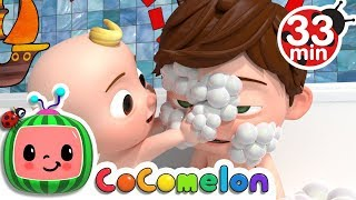 Video Bath Song | +More Nursery Rhymes & Kids Songs - Cocomelon (ABCkidTV) MP3, 3GP, MP4, WEBM, AVI, FLV Oktober 2018