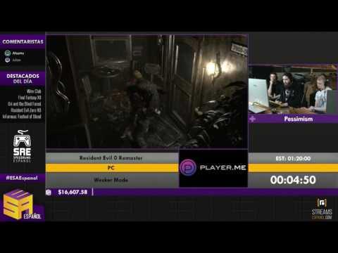 Resident Evil Zero HD - Retransmisión en Español de ESA2016