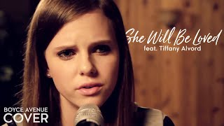Maroon 5 - She Will Be Loved (Boyce Avenue feat. Tiffany Alvord acoustic cover) on iTunes & Spotify - YouTube