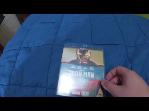 Unboxing - Iron Man - 2008 - Blu-Ray