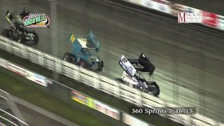 Knoxville Raceway 360 sprints 5-16-15