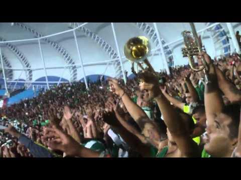 (HD) Primer Tiempo del Deportivo Cali vs a/nal Instrumental 28 Julio 2012 - Frente Radical Verdiblanco - Deportivo Cali