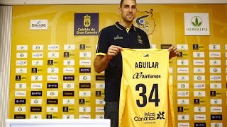 Presentación oficial de Pablo Aguilar