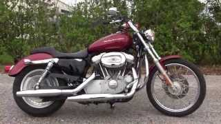 1. Used 2006 Harley Davidson Sportster 883 Custom Motorcycles for sale in Fort Myers