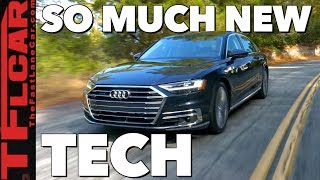 2019 Audi A8 In-Depth Review: Previewing the New Car Tech That's Coming To Your Car Soon! by The Fast Lane Car