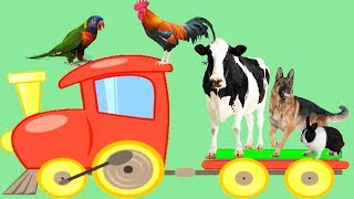 Video The sound of farm animals | Learn the names and sounds of animals | Funny video animal sounds MP3, 3GP, MP4, WEBM, AVI, FLV September 2018