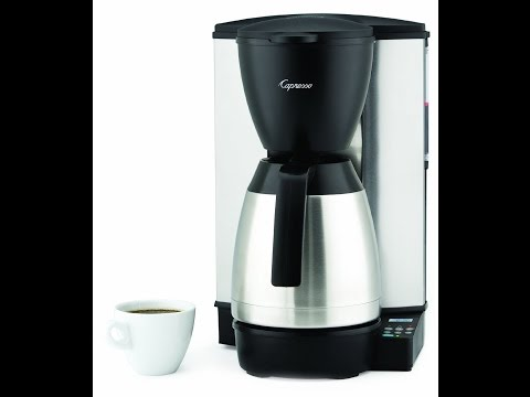 Capresso MT600 10 Cup Programmable Coffee Maker Review