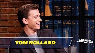 Video Tom Holland Accidentally Ghosted Robert Downey Jr. MP3, 3GP, MP4, WEBM, AVI, FLV Juli 2019