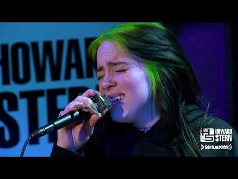"""Billie Eilish """"When the Party's Over"""" Live on the Howard Stern Show видео"""