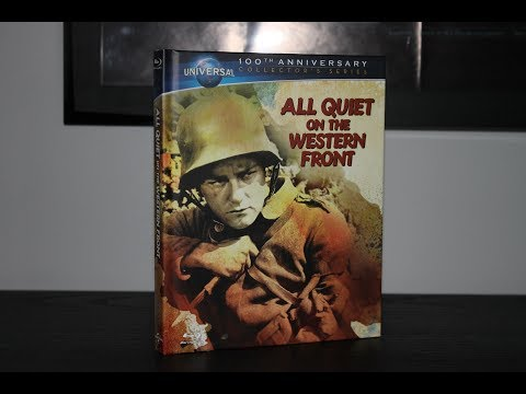 All Quiet On The Western Front - DigiBook Limited Edition Blu-Ray Unboxing