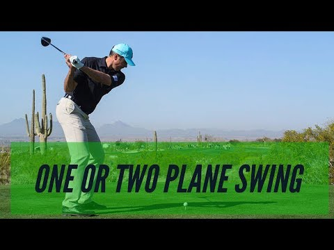 Golf Lesson- 90 Seconds To Learn The 1 And 2 Plane Swing