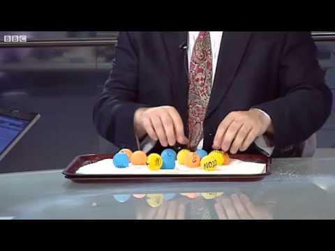 Higgs Boson explained using sugar and ping-pong balls!