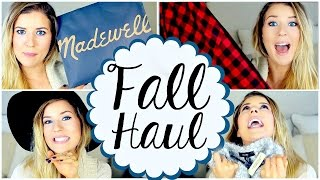 Fall Fashion Haul: Clothes, Shoes, Hats&MORE!