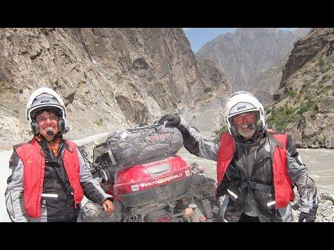 IRAN PAMIR MONGOLIA SIBERIA by Motorcycle (видео)