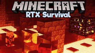Raiding a Bastion in RTX! • Minecraft RTX Survival S2 [Part 5]