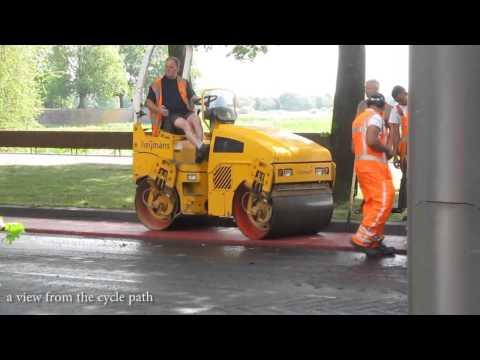 Как делают дороги в Нидерландах