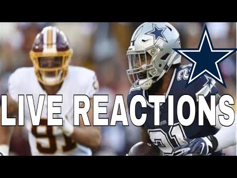 Dallas Cowboys vs Washington Redskins   Live Reaction Part 2