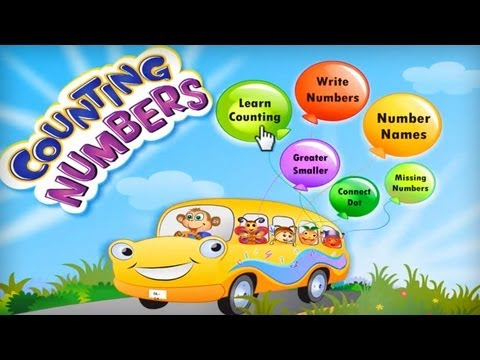 Video of Kids Math Count Numbers Game