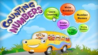 Kids Math Count Numbers Game YouTube video