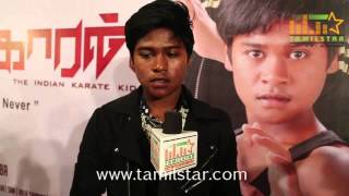 Kevin at Karate Kaaran First Look Launch and Press Meet